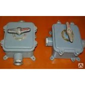 Герметичный пакетный выключатель ГПВ 3-100